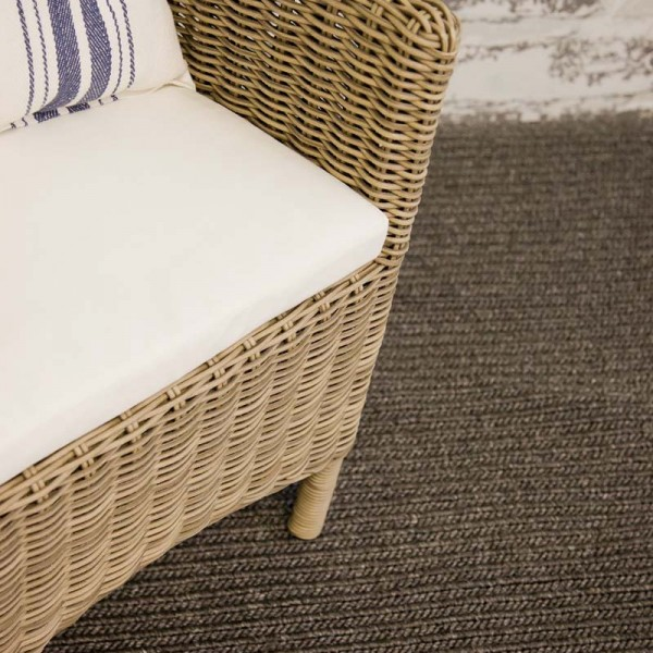 Cadrys Terrace Soumak Weave Snow White, Dew & Opal Grey